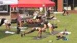 1,000 Burpees for charity