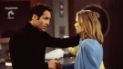 """Jay Pickett and Sarah Aldrich on """"Port Charles"""" in 1998. Pickett had died at age 60. (Craig Sjodin/Walt Disney Television/Getty Images)"""