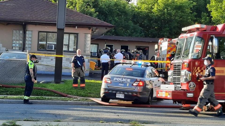Roycroft motel fire