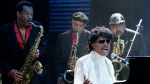 In this May 30, 2009 file photo, Little Richard performs at The Domino Effect, a tribute concert to New Orleans rock and roll musician Fats Domino, at the New Orleans Arena in New Orleans. (AP Photo/Patrick Semansky, File)