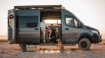 Bryan Walker and Alexa Owens founded Cascade Custom Vans right before the pandemic. They own their own van still and use their free time to travel. (Courtesy Cascade Custom Vans)