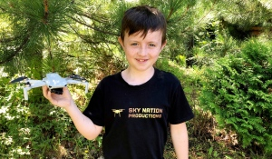 Eleven-year-old Nation North says he has always had an entrepreneurial spirit. (Lyndsay Aelick/CTV News)