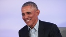 Former President Barack Obama will host a Covid-compliant 60th birthday party amid rising virus concerns. Obama here speaks at the Obama Foundation Summit on October 29, 2019 in Chicago, Illinois. (Chicago, Illinois, United States)