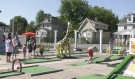 King Cone & King Putt is open seven days a week at 10 a.m., but staff say most days, people are in line before the open sign is even turned on. (Jaime McKee/CTV News)