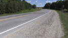 Wellington Road 21, just south of Elora, where a two-car crash killed a 25-year-old man on Aug. 1, 2021.