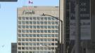 A federal office tower in Ottawa. Aug. 2, 2021. (Jackie Perez / CTV News Ottawa)