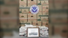 U.S. Customs and Border Protection stopped a Canadian woman who they say was trying to bring more than 30 kilograms of cocaine across the Alberta-Montana border. (Supplied)