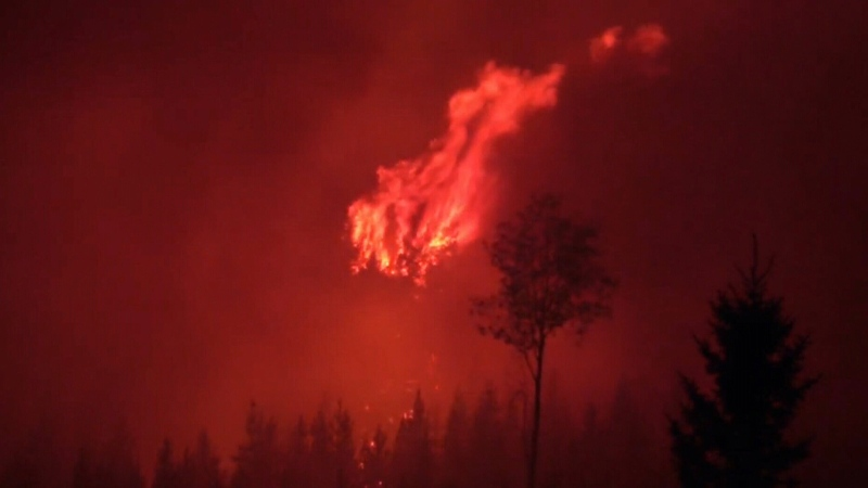 Fire crews stretched thin in B.C.