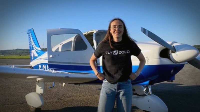 CTV National News: Pilot reaches new heights