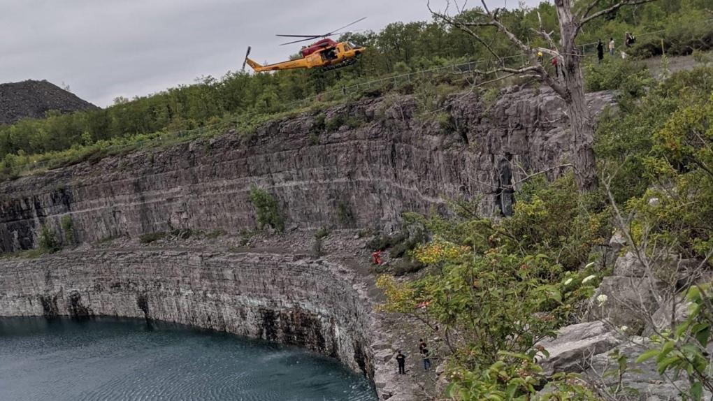 Marmora Mine rescue