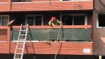 Downtown Edmonton fire