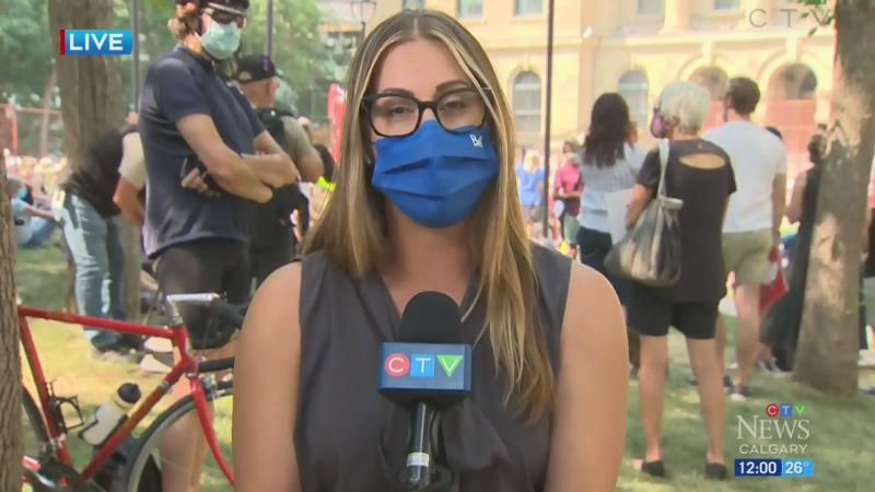 COVID-19 rallies continue in Alberta