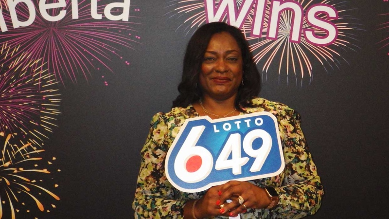 Calgary resident Abimbola Asala won $1 million in a recent Lotto 649 drawing