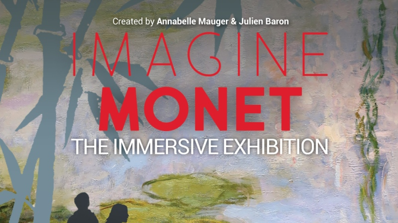 The immersive exhibit called Imagine Monet is coming to Edmonton in the summer of 2022. (Courtesy: Imagine Monet)