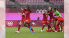 Team Canada's shot at soccer gold has been a long time coming, after the team won bronze at the games in both London and Rio, and a controversial semi-final loss to the U.S. in 2012.