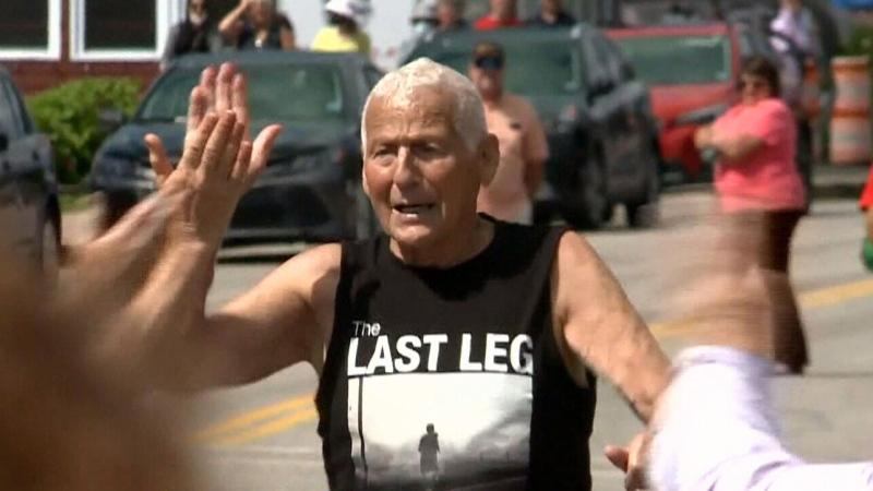 NS runner, 80, achieves personal running goal