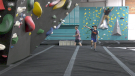 Young and old alike share a passion for climbing at Boulder Climbing Community in the southeast where everyone has an eye on the Olympic Games and sport climbing