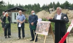 Nickel Belt MP Marc Serré announced Tuesday a $17.95 million loan to help build a new 55 unit seniors housing complex in Coniston. (Alana Pickrell/CTV News)