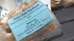 Doggy Delights makes organic, healthy snacks for dogs. (Heather Senoran/CTV Kitchener)