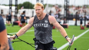 Nanaimo resident Patrick Vellner took home second place at the 2021 NOBULL CrossFit Games: (CrossFit Games / Facebook)