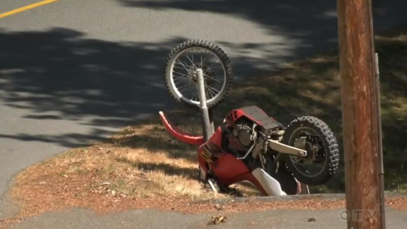 The crash occurred around noon Tuesday: (CTV News)