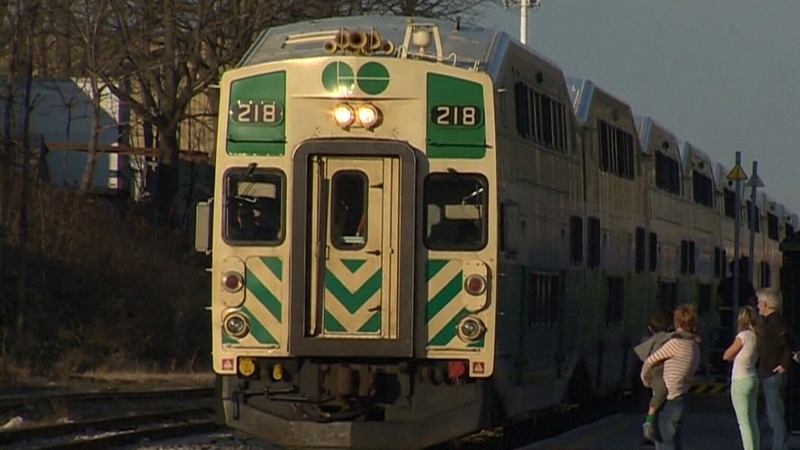 GO train spotted in London sparks commuter hope