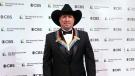 Garth Brooks attends the 43nd Annual Kennedy Center Honors at The Kennedy Center on Friday, May 21, 2021, in Washington. (AP Photo/Kevin Wolf)