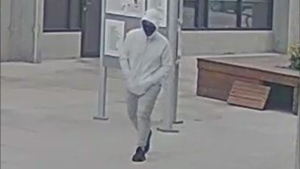 Police are searching for a suspect sought in connection with a double-shooting in Kelowna, B.C., on July 31, 2021. (Handout)