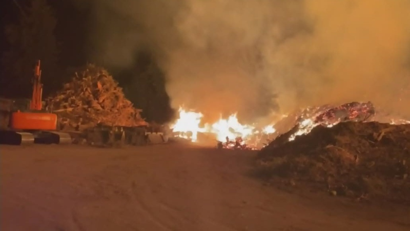 Firefighters contain wildfire on Vancouver Island