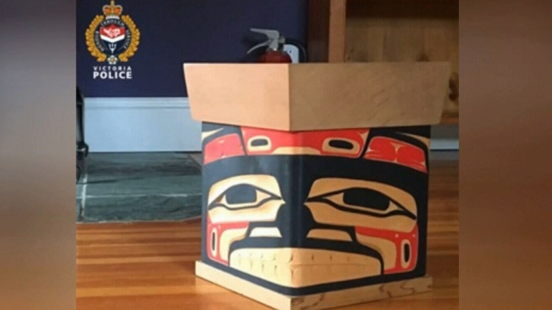 Some ashes located after urn stolen in Victoria