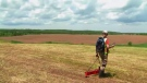 Dr. Jonathan Fowler, Roger Lewis, and their survey team examined large tracts of land encompassing the former school grounds and surrounding farm land with techniques including aerial laser scanning to ground-penetrating radar.