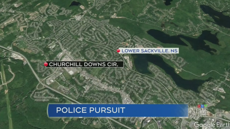 N.S. RCMP look for suspect after police pursuit