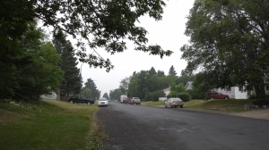 Police found a man in serious condition in the 800 block of Second Street East in Prince Albert on July 31, 2021. (Jayda Taylor/CTV Prince Albert)