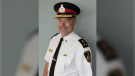 Chief Duncan Davies was announced as the LaSalle Police Service chief on Wednesday, Aug. 4, 2021. (courtesy LaSalle Police Service)