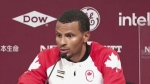 Olympic gold medalist Andre De Grasse