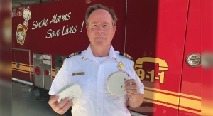 Chief Richard Anderson of the St. Marys Fire Department in St. Marys, Ont., Wednesday, Aug. 4, 2021. (Sean Irvin / CTV News)