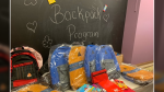 The United Way of Kingston, Frontenac, Lennox and Addington says its Backpacks Program served 1,300 students in 2020, a rise from the year before. (Kimberley Johnson/CTV News Ottawa)