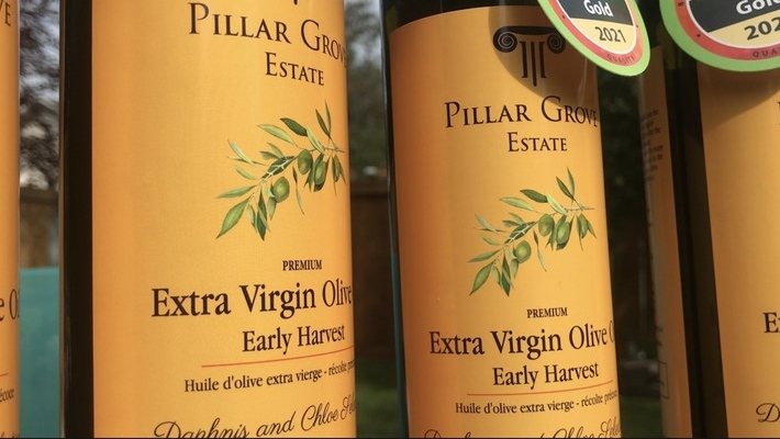 A St. Albert man is producing premium extra virgin olive oil in Greece and distributing it exclusively within Alberta.