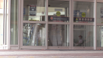 Emergency Room entrance at the Royal Victoria Regional Health Centre (Mike Arsalides/CTV News)