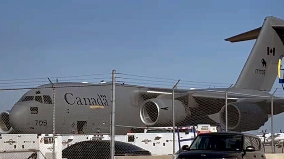 Flight of Afghan refugees arrives in Canada