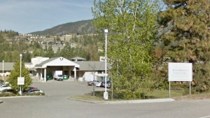 The entrance to the Brookaven Care Centre in Kelowna, B.C., is seen in a Google Maps image dated July 2017.