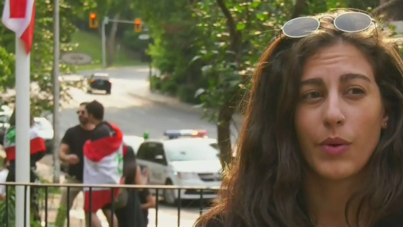 Montreal demonstration remembers Beirut blast