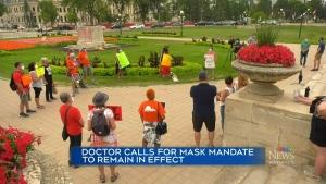 Doctor says ending mask mandate is dangerous