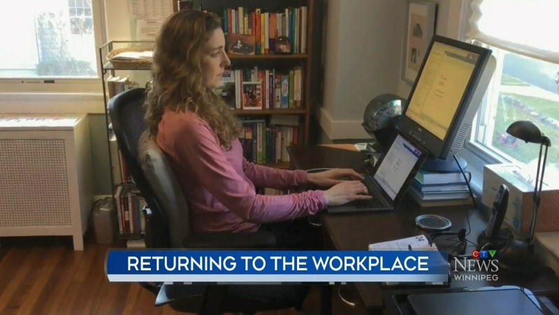 Canadians want to continue working from home