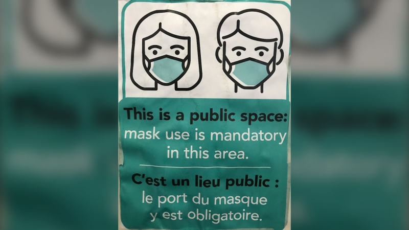 Businesses and organizations can choose to continue requiring masks and people can still choose to wear one. Many are doing exactly that. (Source: Josh Crabb/ CTV News Winnipeg)