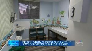 Study examines 'Long COVID' symptoms in children