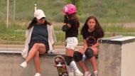 Girls flock to skateboarding