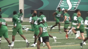 Riders prepare to face BC Lions