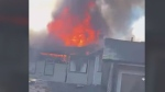 Residents displaced by stubborn fire