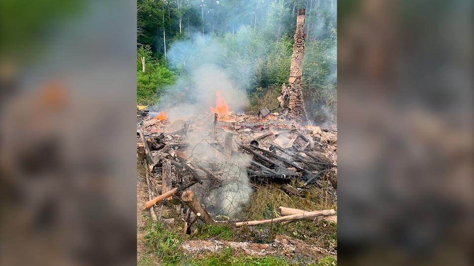 David Lidston cabin fire